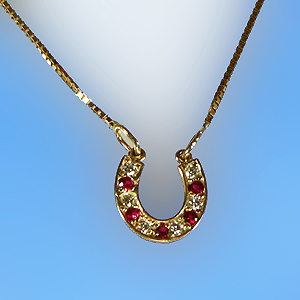 The gorgeous horse jm7584rd ruby and diamond horseshoe necklace jm7584rd ruby and diamond horseshoe necklace aloadofball Choice Image