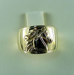 JET3920_3844A Saddlebred Horse Head Ring
