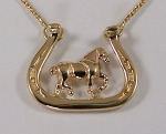 JET3223_3572N Draft Horse Necklace