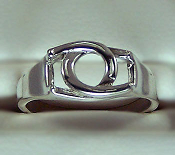 JET3956SS Interlocking Horseshoe Ring