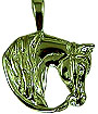 JET3765WG Western Pleasure Arabian Head Pendant