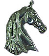 JET3962SS Saddlebred Head Pendant
