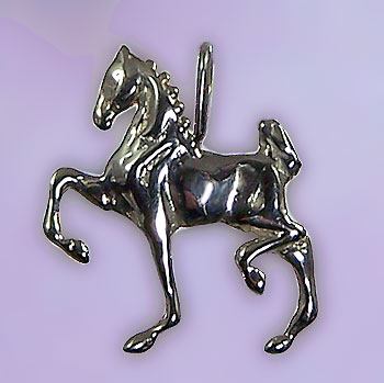Hackney Cob-Tail Horse Pendant