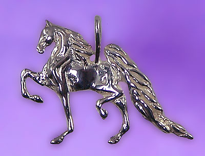 Gaited Saddlebred Pendant