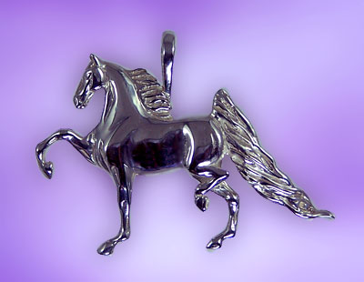 Trotting Saddlebred Pendant
