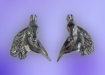 JET3192ERSS Saddlebred Earrings