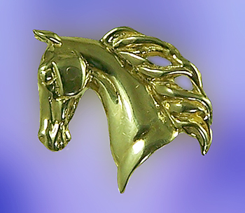 JET7895 Saddlebred Head Pendant