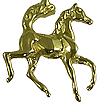 JET3204 14kt Yellow Gold Horse Foal Pendant