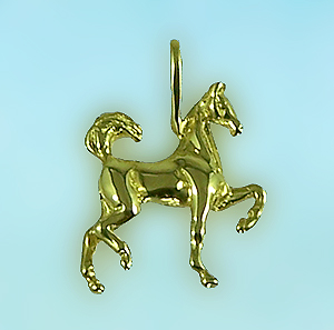 Fancy Filly Saddlebred Pendant