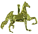Trot Till You Drop Saddlebred Pendant