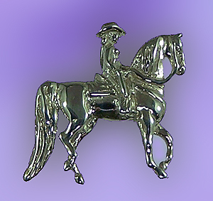 JET3480SS Western Pleasure Saddlebred Pendant