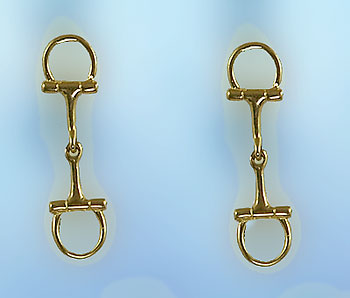 M2025ER English Bit Earrings
