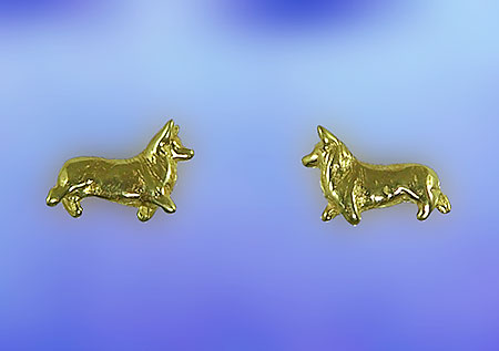 JET3683 Corgi Earrings