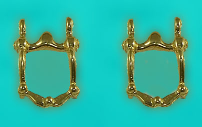 Western Bit Earrings
