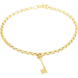 19803 Love is the Key® Charm Bracelet