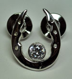 W1527SSCZLP Rolled Toe Horseshoe Pin