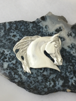 Fancy Arabian Horse Head Pendant