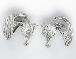 Classic Arabian Horse Head Earrings