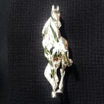 Head on Saddlebred Lapel Pin