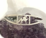 Saddlebred in Frame Cuff Bracelet