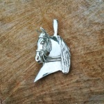 Horse with Halter Pendant