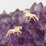 Full Body Horse Earring Studs