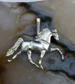 JET3466SS Tennessee Walking Horse Pendant