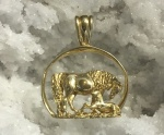 JET3517A_BSF Arabian Mother and Baby Pendant