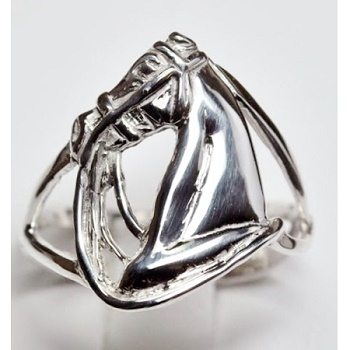 Full Bridle Horsehead Ring