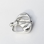 Race Head in Stirrup Pendant