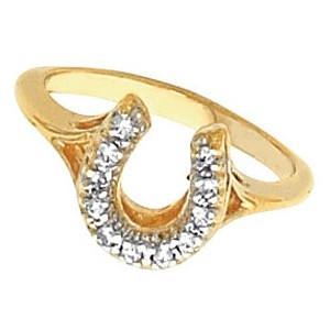 the gorgeous jm4541 gold and horseshoe ring