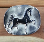 JM587 Saddlebred Medallion with Moon