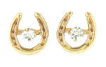 JET3193JER Horseshoe Earring Jackets