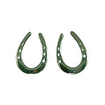 M2195ERSS Saddlebred Horseshoe Earrings