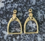 M2402A_BJER English Stirrup Earrings