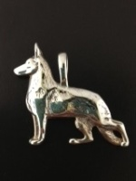 JET3062 German Shepherd Pendant
