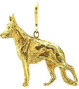 JET3046 German Shepherd Pendant