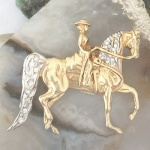 Ladies Western Pleasure Saddlebred Pendant