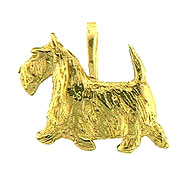 JET3583 Scottish Terrier Pendant