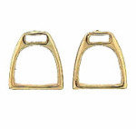 M1009ER Stirrup Earrings