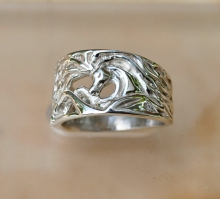 JET3191RGSS Arabian Horse Head Ring