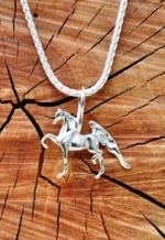 JET3170SS Trotting Horse Charm