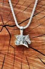 JET3826SS Saddlebred Head Charm